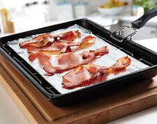 20 x GRASSO usa e getta i riduttori di Tappetini Grill CARNE HAMBURGER SALSICCIA Bacon