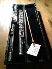 Bertrem Bb FLUTE D'AMORE in SIb Sterling Silver Headjoint Bb Foot (SAX BASS ALTO