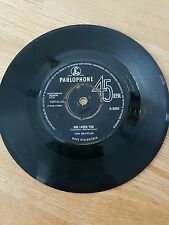 """The Beatles - She Loves You / I'll Get You 7"""" Parlophone Vinyl 45 rpm Single"""