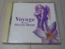 MALICE MIZER CD album / Voyage -sans retour- / Gackt Japan import