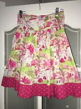 Pumpkin Patch Girls Ditsy Summer Midi Skirt Age 10 Great Condition