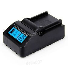 Digital LCD Quick Charger for Sony NP-F570 NP-F770 NP-F550 NP-F970 Batteries