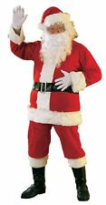 Rubies Costume Adult Mens Promotional Flannel Santa Claus Suit | X-Large