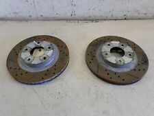 2002-2003 NISSAN MAXIMA OEM FRONT DRILLED ROTORS