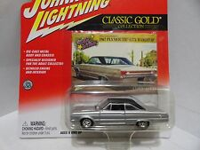 @@ Johnny Lightning Classic Gold 1967 Plymouth GTX HARDTOP! WOW!! VERY COOL!!!