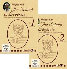 School of Legerete Part 1 & 2 - Philippe Karl - Classical Dressage - 2 DVD Set