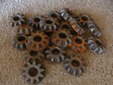 "Lot of 20 Primitive Vintage Cast Iron Gears 2"" Machine Age Steampunk Wall Art"