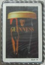 Guinness Sexy Girl Playing Cards