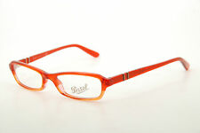 New Authentic Persol 2796-V 649 Red/Silver 49mm Frames Eyeglasses Italy RX