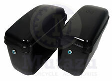 Hard saddlebags fits Honda Shadow VTX VT 750 Magna Spirit Sabre 600 1100 1300 GA