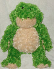 "Ganz Bellifuls Plush Green Frog Cream Belly & Feet 17"" Stuffed Animal Toy"