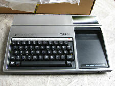 Texas Instruments  TI-99/4A   Homecomputer  OVP mit Kassettenrecorder TOP #206