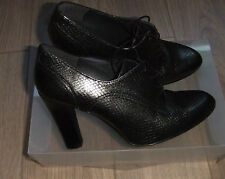 STUART WEITZMAN Pewter High Heels Ladies Smart City Office Shoes Size 37  UK 4