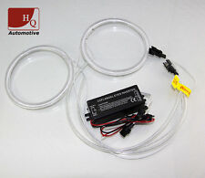 80mm CCFL Angel Eyes Halo Rings Replacement 2pcs KIT set 6000K With 1 Invertor