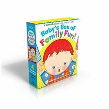 Baby's Box of Family Fun!: A 4-Book Lift-the-Flap Gift Set: Where Is Baby's Momm