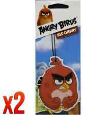 Retro Scents Angry Birds Car Air Freshener - Red Cherry *Pack of 2*