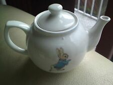 * BEATRIX POTTER COLLECTABLE TEAPOT PETER RABBIT *NEW * FREE-MAILING...