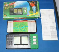 MGA MASTER PRO GOLF ELECTRONIC HANDHELD VINTAGE ARCADE TRAVEL CLUB 18 HOLE BOXED