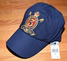 Polo Ralph Lauren Men's Classic Twill 3 Crest Logo Cap Hat OSFA New NWT $49.50