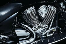 Kuryakyn 7627 Chrome Cylinder Base Accent  for Victory Models 2009-2016