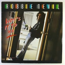 "12"" Maxi - Robbie Nevil - Wot's It To Ya - C1423 - washed & cleaned"