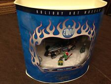 HTF HOT WHEELS 2000 HOLIDAY SERIES KRINGLE'S KRUISER HOT ROD DIORAMA RARE