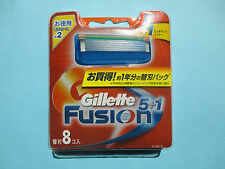 Free Shipping Genuine Gillette Fusion Razor Blade Refills 8 Count With Tracking