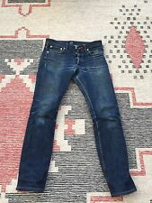 A.P.C. Petit Standard Raw Denim Faded and Repaired Tagged Waist 28