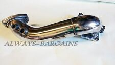 Manzo Stainless Steel Downpipe Exhaust Toyota Celica 89-99 MR2 91-94 2.0L 3SGTE