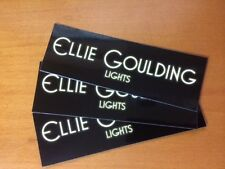 ELLIE GOULDING Stickers LIGHTS Official Promo