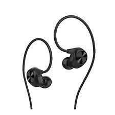 LeEco LeTV LEUIH101 Reverse Earbud Headphones  Black+3 Months Seller Warranty