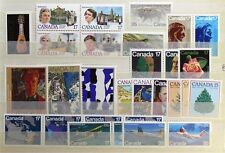 D925 CANADA 1981 Complete Year Set, collection of 29 postage stamps Mint NH