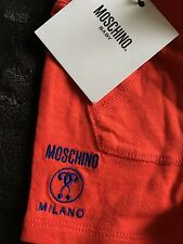 Infant Moschino Cotton Shorts Solid Red 0-3 months