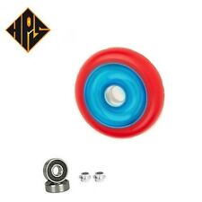 1X PRO STUNT SCOOTER AQUA SOLID METAL CORE WHEEL 110mm 88A ABEC 9 BEARINGS 11