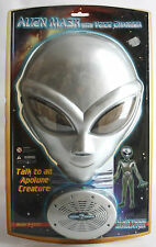 VERY RARE VINTAGE 90'S ALIEN MASK WITH VOICE CHANGER SIMULATOR BRAND NEW MISP !