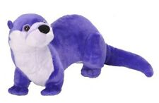 "15"" CK Purple River Otter Plush Stuffed Animal Toy - New"