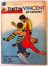 b)TINTIN du 24/09/1963  N°39; Le Royaume enchanté des marionnettes, Le Peruchet