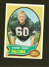 1970 Topps Football Set TOMMY NOBIS Card