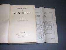 Mines Ratel préparation mécanique des minerais 1908 manuel illustré de gravures