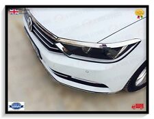 VW PASSAT B8  STAINLESS STEEL CHROME HEADLIGHT AND BONNET TRIMMING 2015 ONWARDS