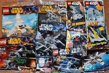 LEGO STAR WARS job lot 11 Different KITS, NEW sealed