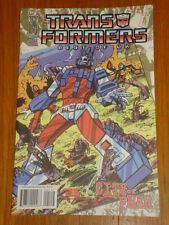 TRANSFORMERS BEST OF UK CITY OF FEAR #1 RI RETRO COVER 2009 IDW ANDREW GRIFFITH