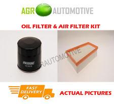 PETROL SERVICE KIT OIL AIR FILTER FOR RENAULT MEGANE 2.0 179 BHP 2008-