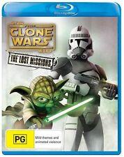 Star Wars The Clone Wars: The Lost Missions - Season 6 NEW B Region Blu Ray