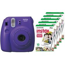Fuji instax mini 8 grape Fujifilm instant camera + 50 film