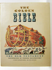 THE GOLDEN BIBLE A Giant Golden Book Vintage Children's Book