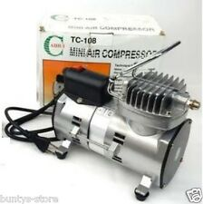 AIHUI HIGH QUALITY METAL MINI SPRAY PAINT OIL FREE AIR COMPRESSSOR BEST PRICE!!!