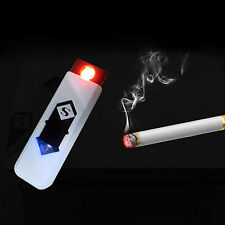 Modish Environmental Protection USB Electronics Charging Cigarette Lighter White
