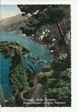 vecchia cartolina di camogli golfo paradiso punta chiappa angolo pittoresco 1956