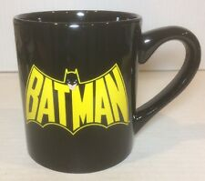 Classic Batman Shield Logo Ceramic Coffee Mug Cup, 14oz, DC Comics, Double Sided